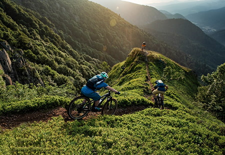 Mountainbike, Mountainbike Trail
