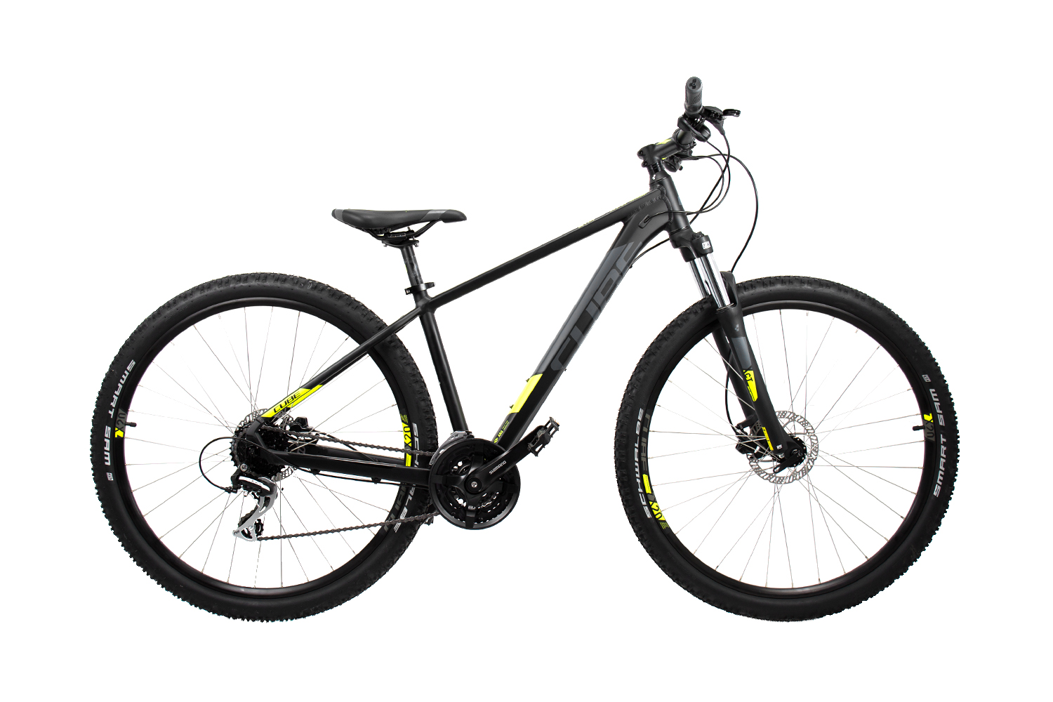Cube Aim Pro - MTB 27,5 - black´n´flashyellow 16 Zoll