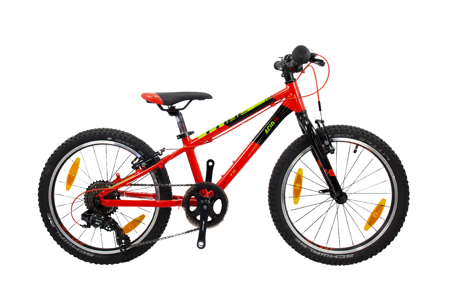 Cube Acid 200 SL - MTB 20 - red´n´green´n´black 20 Zoll