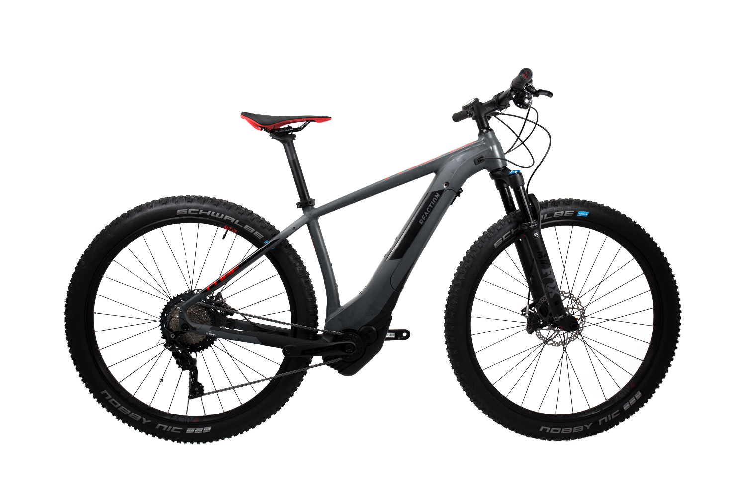 Cube Reaction Hybrid SLT 500 - MTB 29 - grey´n´red 21 Zoll