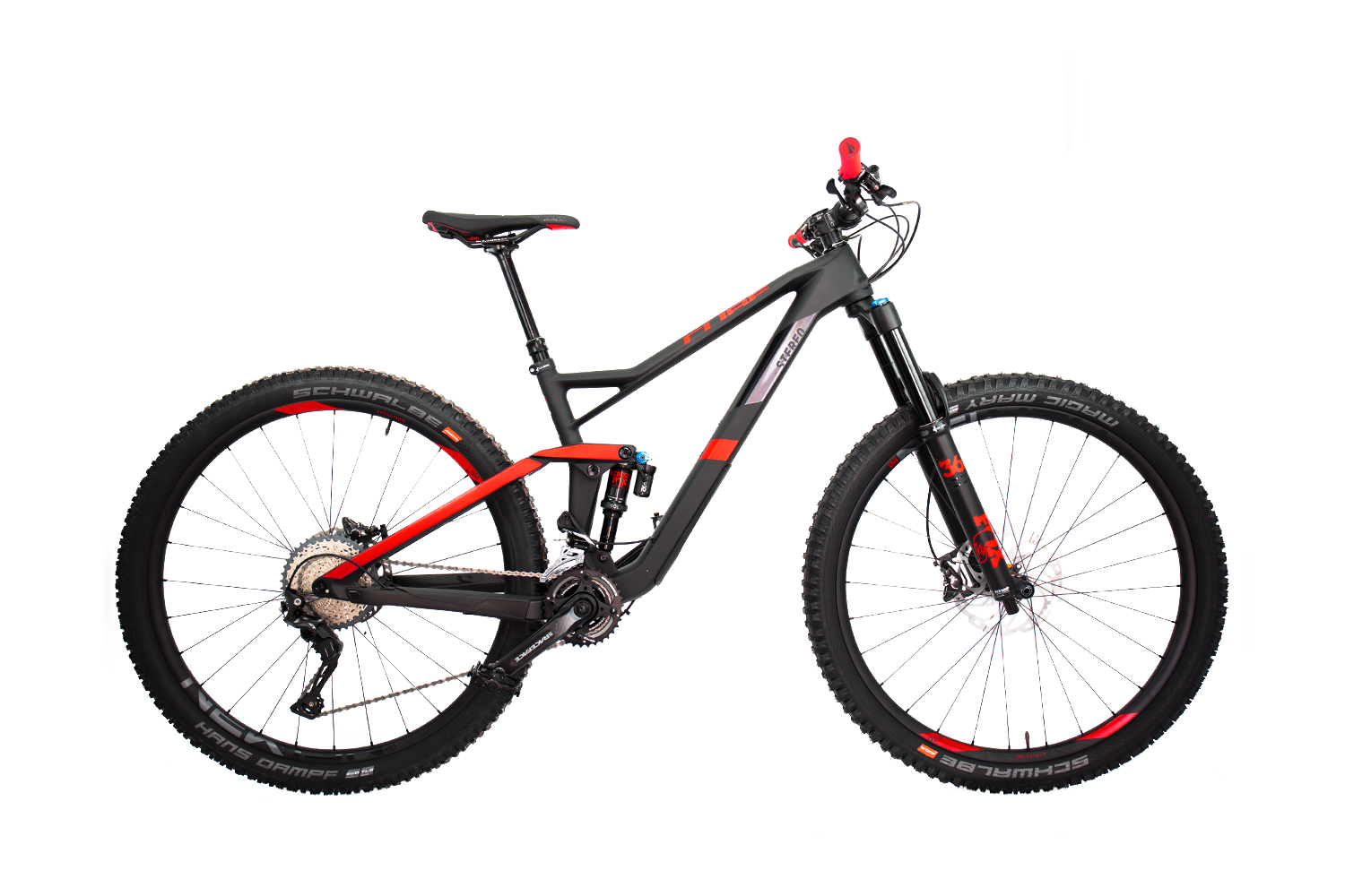 Cube Stereo 150 C:62 Race 29 carbon´n´red