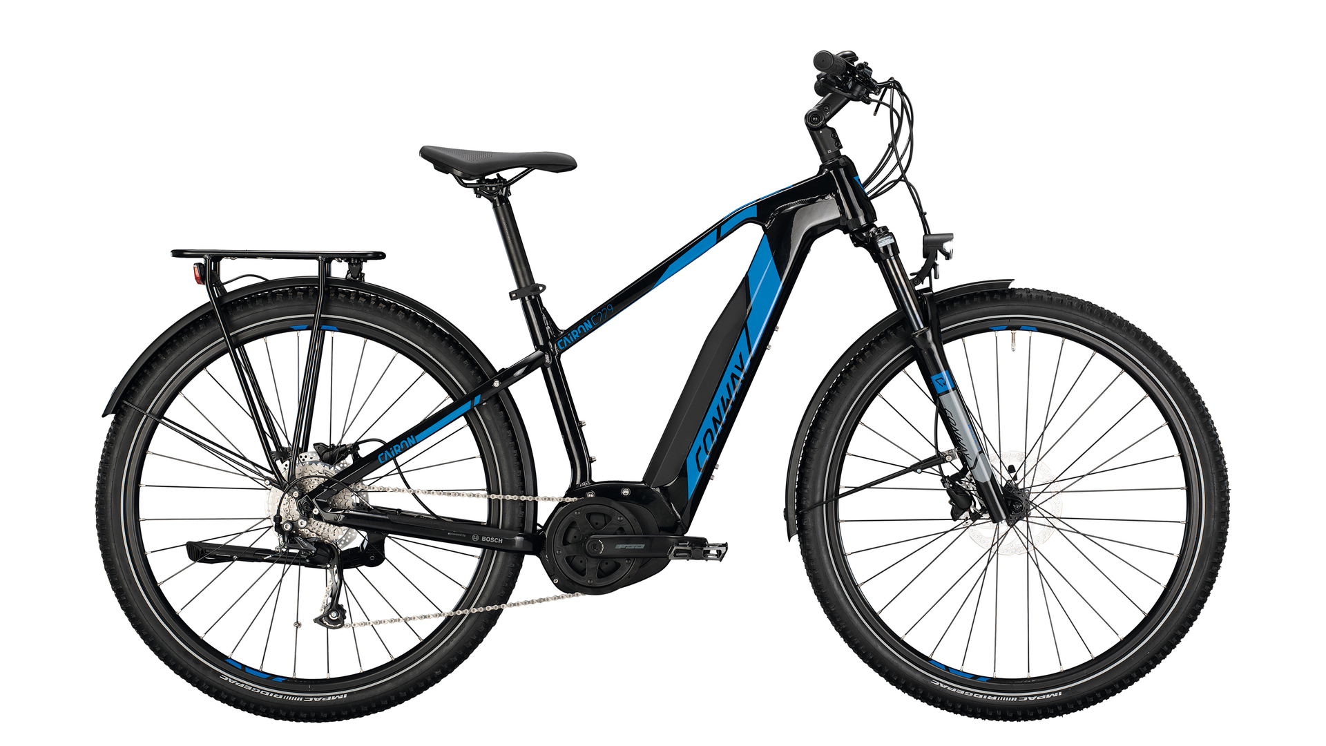 Conway Cairon C 229 black / blue 2021 - 500 Wh 29