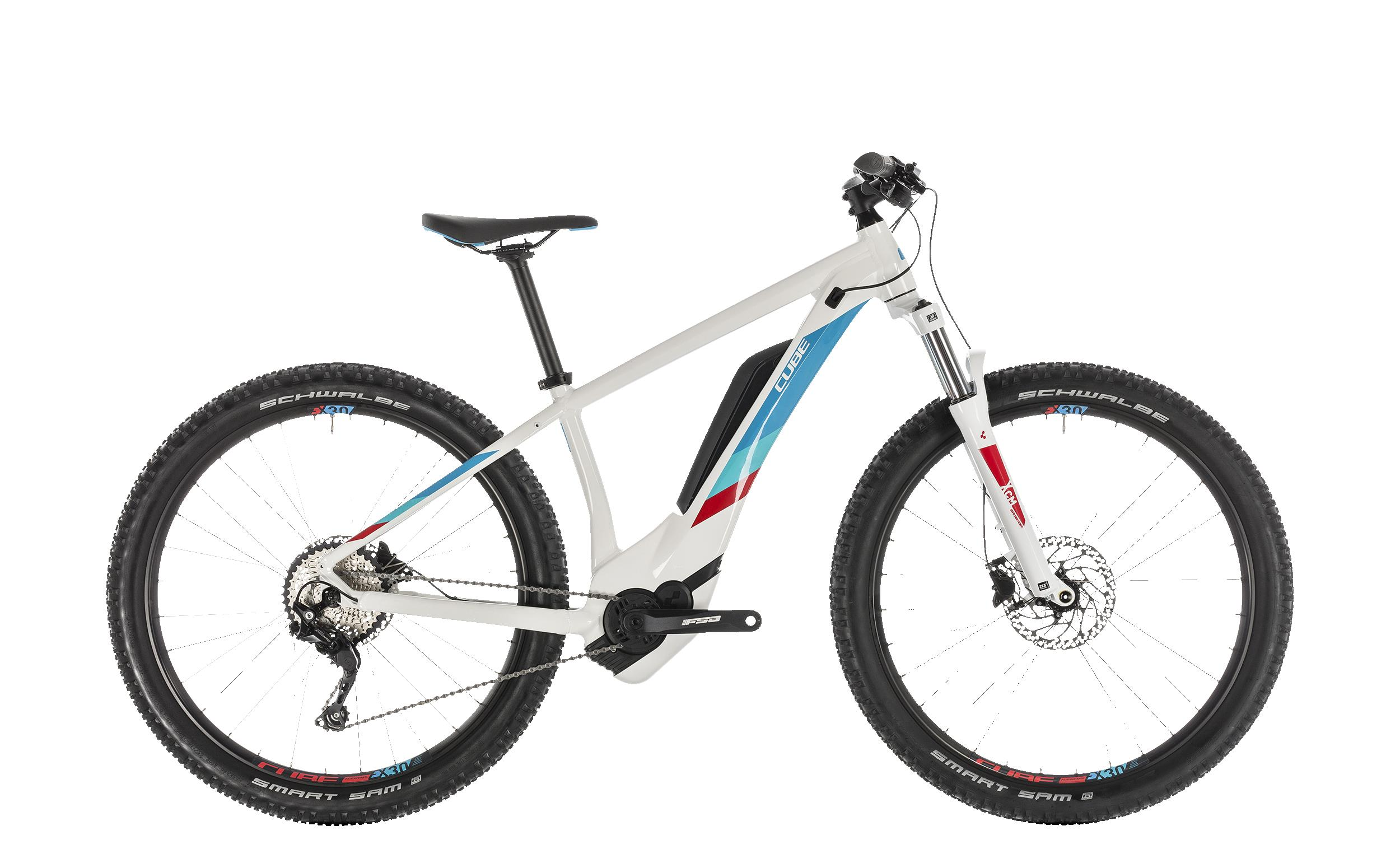 Cube Access Hybrid Pro 500 - 27.5 - white´n´blue 16 Zoll