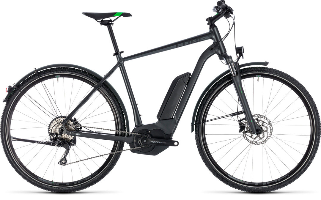Cube Cube Cross Hybrid Pro Allroad 500 grey´n´flashgreen 2018 58 cm