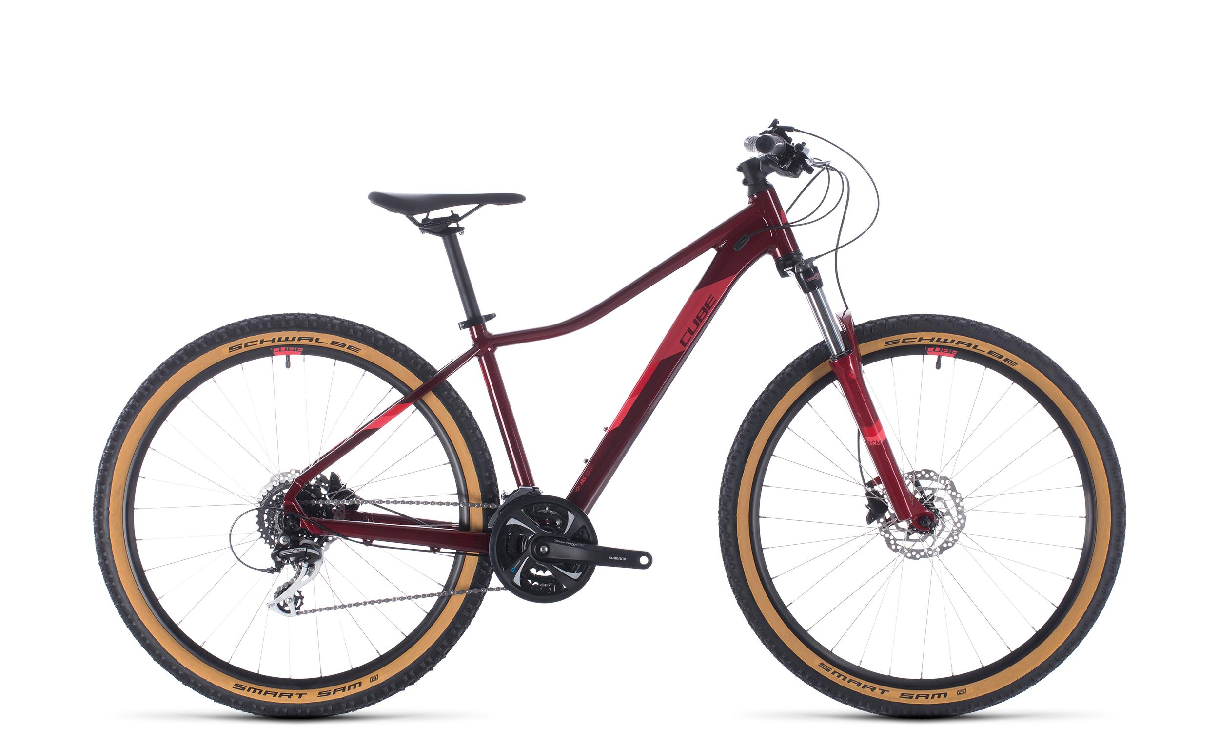 Cube Access WS Exc poppyred´n´coral 2020 16 Zoll