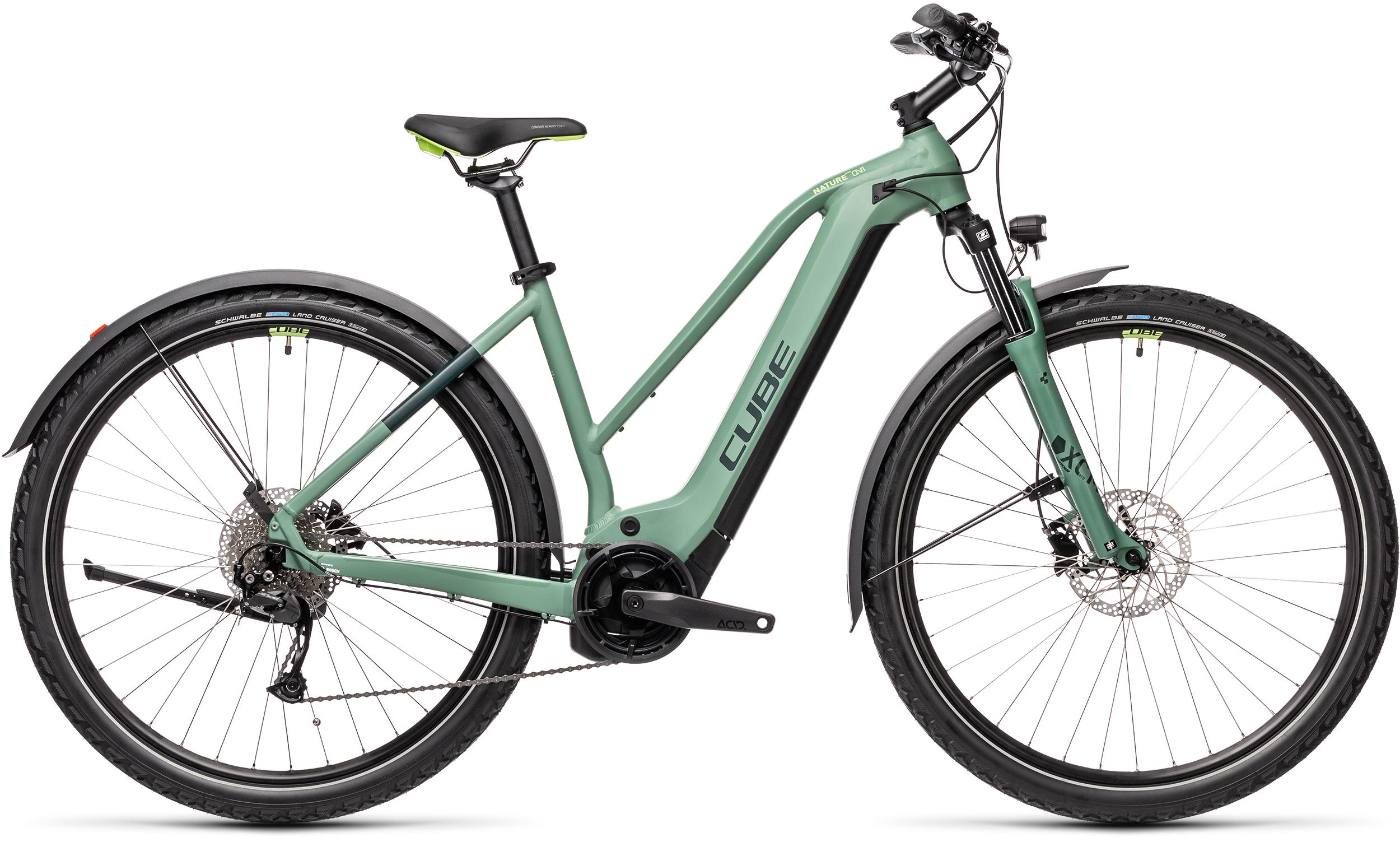 Cube NATURE HYBRID ONE 625 ALLROAD Green´n´sharpgreen  2021 - 625Wh 29