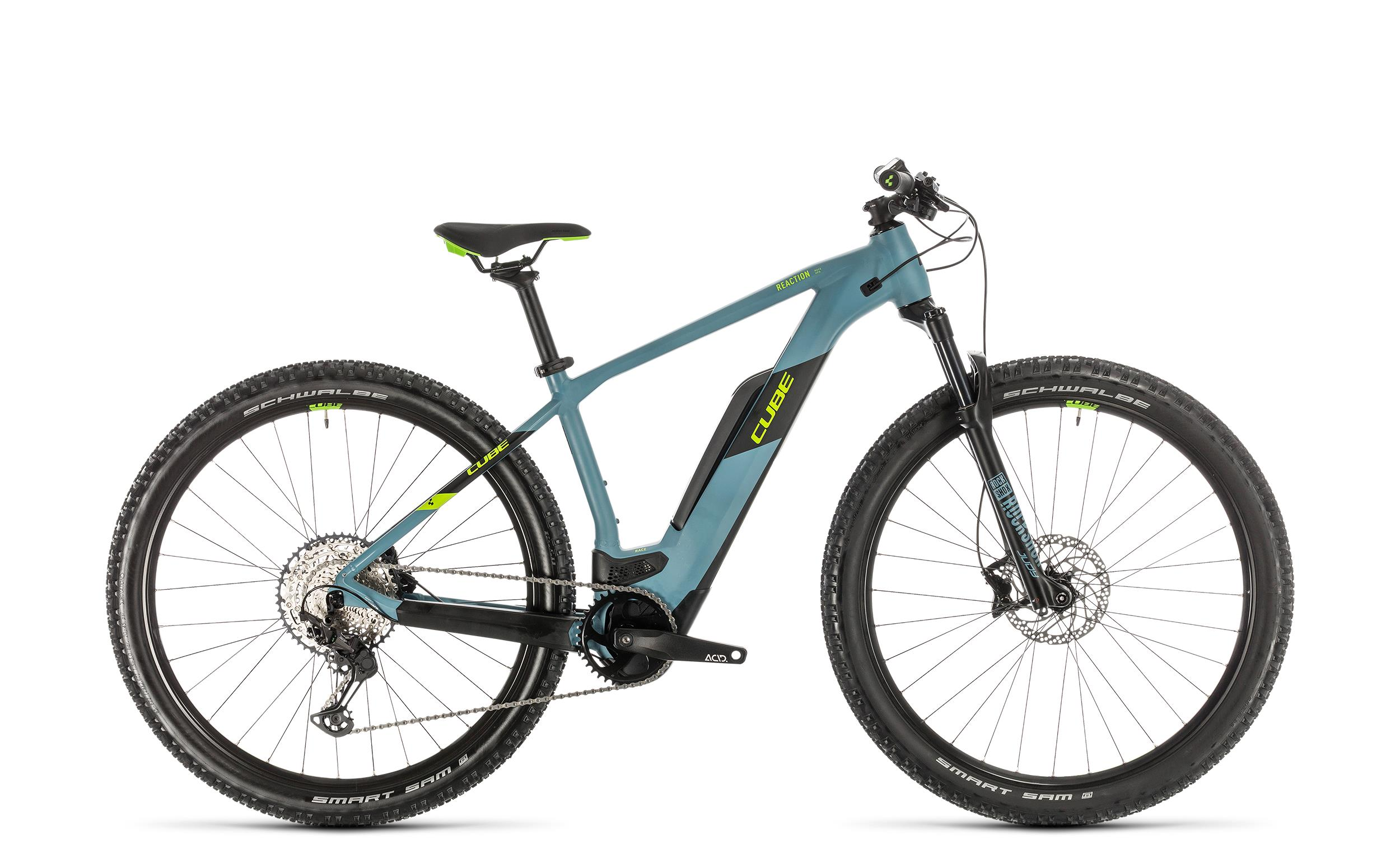 Cube Reaction Hybrid Race 500 blue´n´green 2020 - Diamant -  19 Zoll
