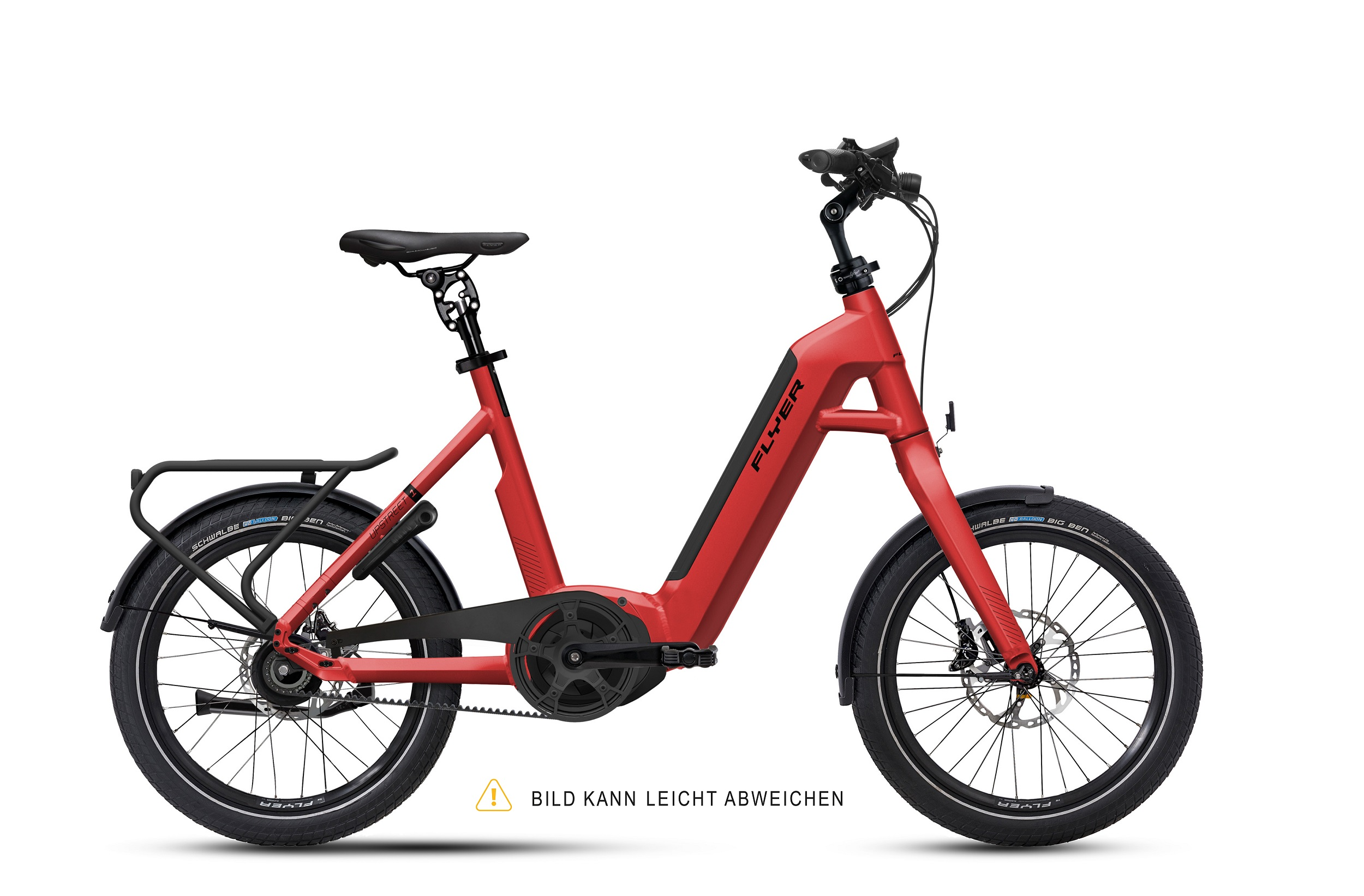 Flyer Upstreet1 5.00 Classic Red Gloss 2020 - Comf 500Wh -  M