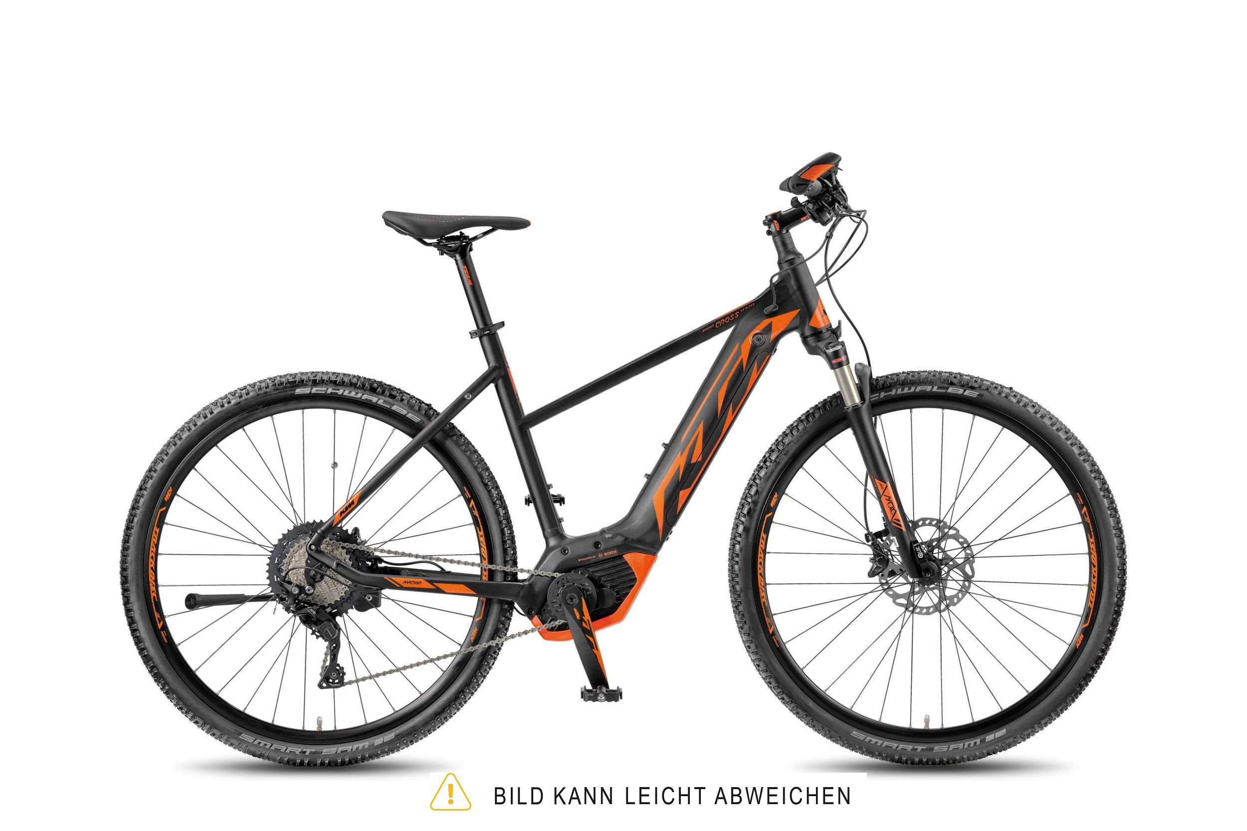KTM MACINA CROSS XT 11 CX5+ DA black matt (orange) 2018 - DA -  46 cm