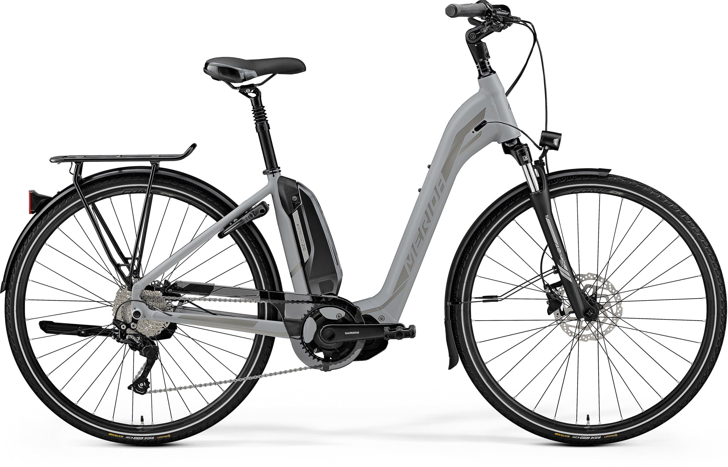 Merida eSPRESSO CITY 200 EQ - 28 - MATT GREY(SILVER) 49 cm