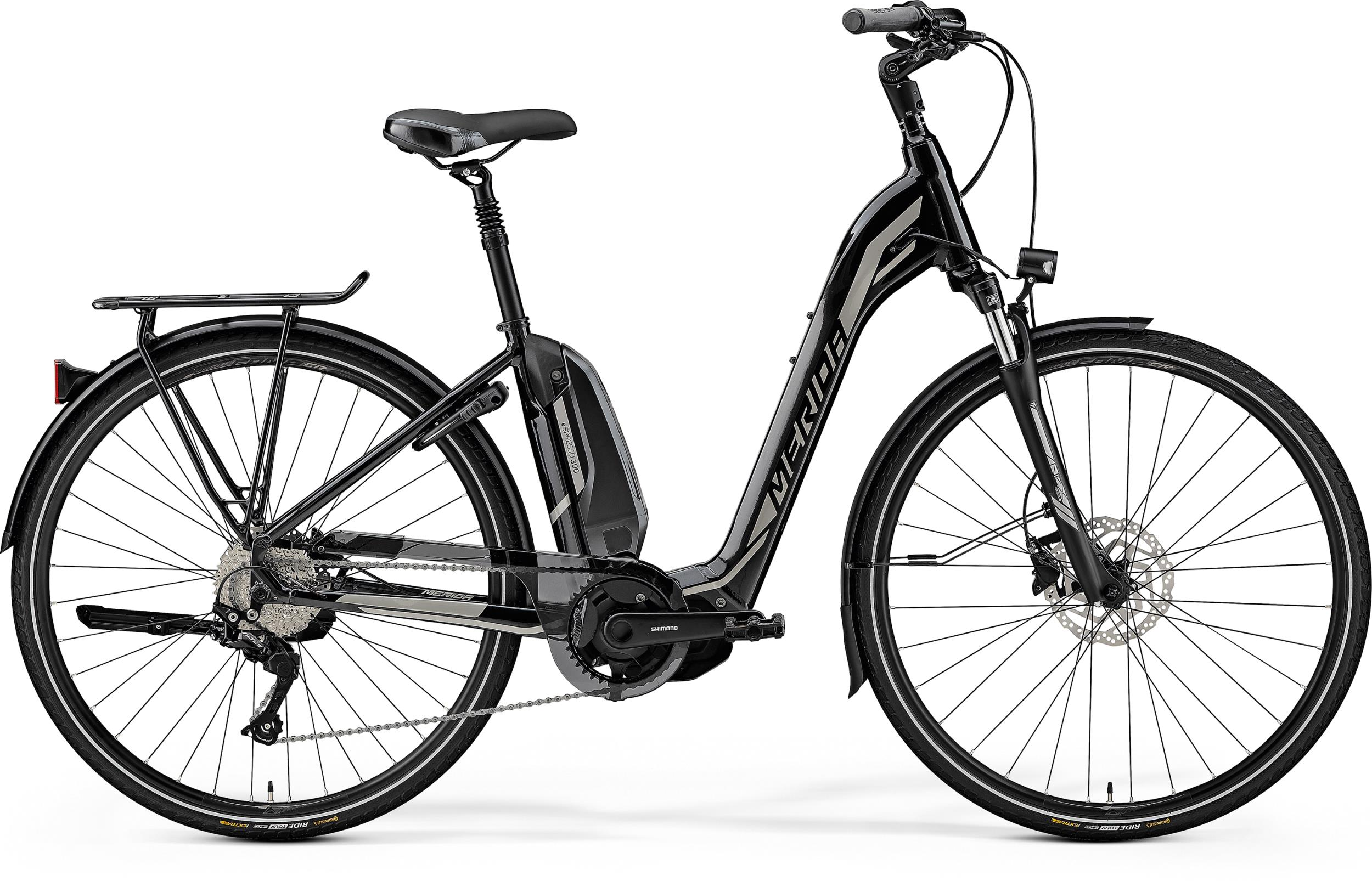 Merida eSPRESSO CITY 300 EQ BLACK(SILVER) 2019 - 28 -  49 cm