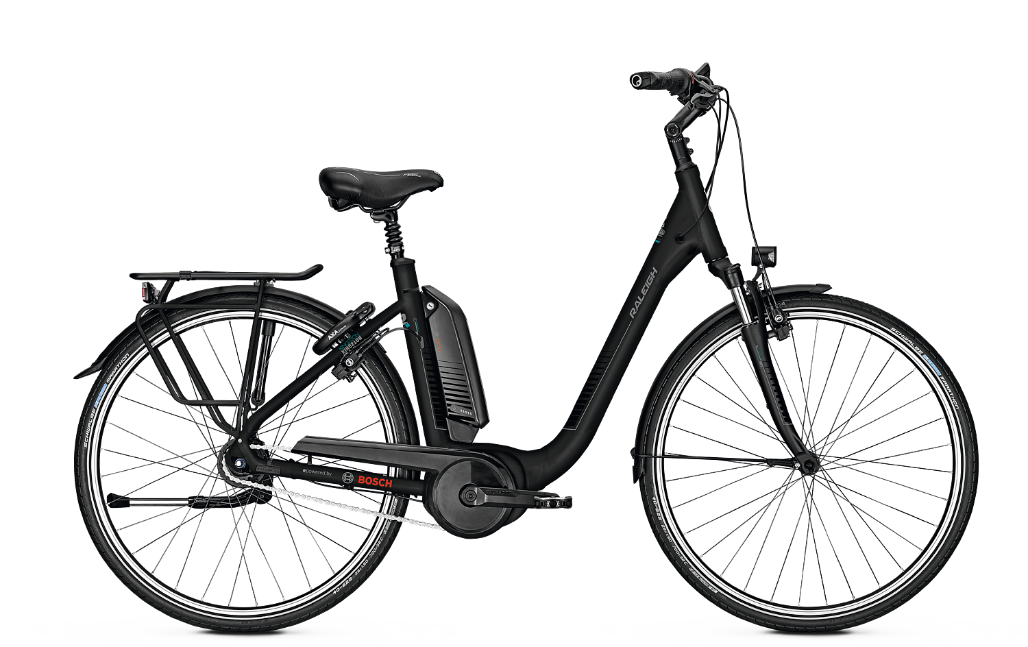 Raleigh KINGSTON - 28 Comfort FL 482 Wh - diamondblack matt 50 cm