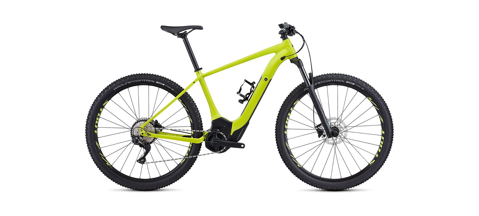 Specialized Turbo Levo Hardtail Comp Hyper Green/Black 2020 - 29 500 Wh -  L