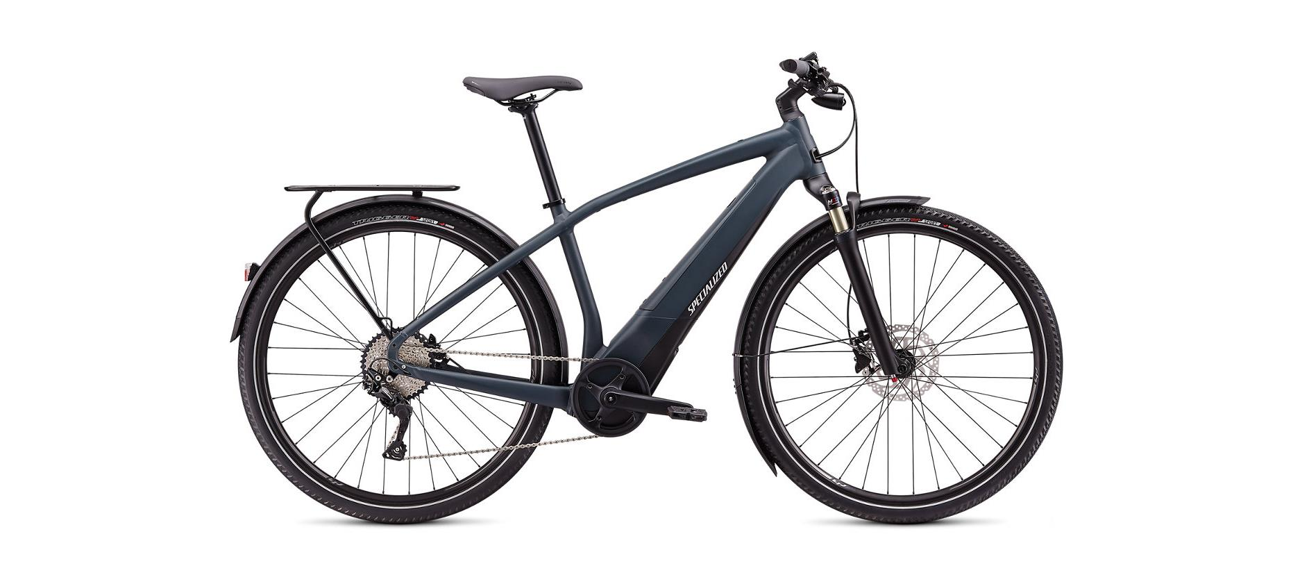 Specialized Turbo Vado 4.0 Carbon / Black / Liquid Silver 2020 - 28 500 Wh -  M