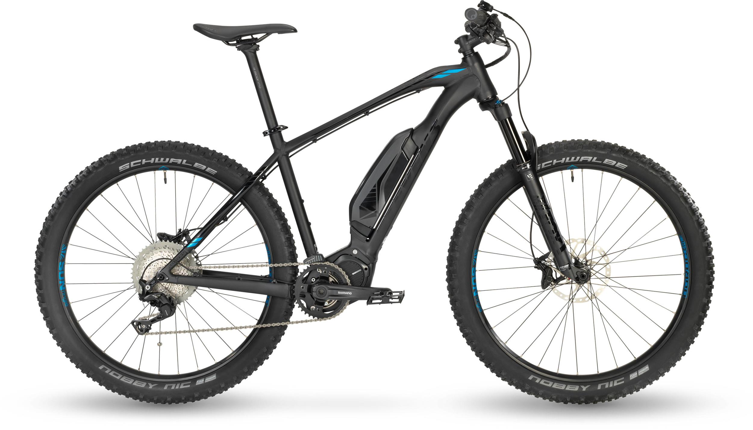 Stevens E-Scope+ Stealth Black 2019 - 27,5 500Wh -  18 Zoll