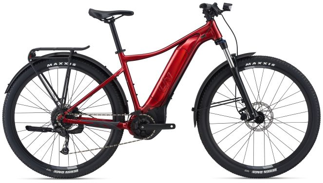 Liv Tempt E+ EX, MTB, Metallic Red, 500Wh M