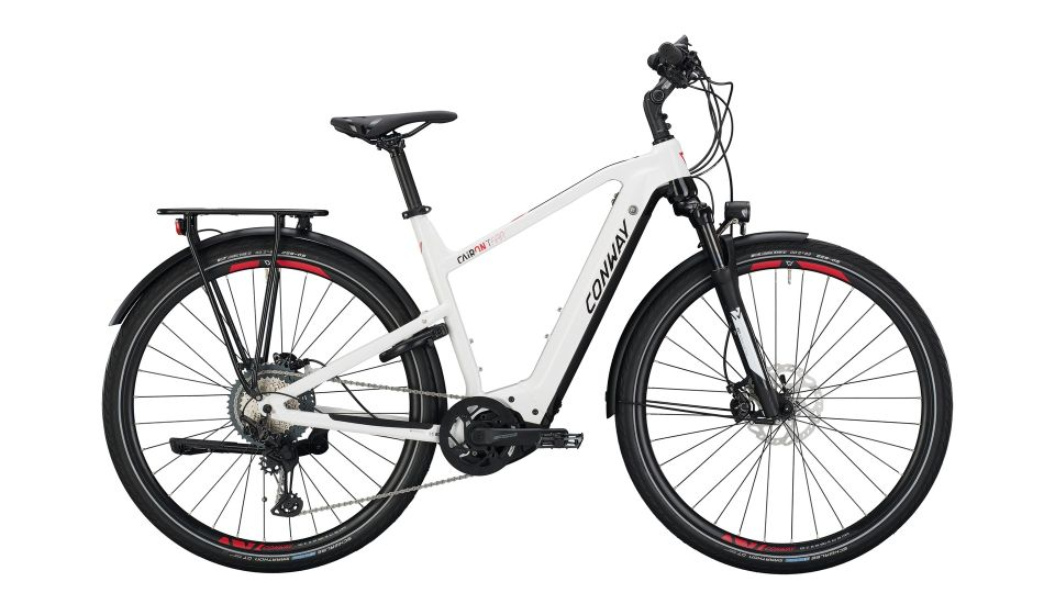 Conway Cairon T 600 white/black 2020 - 625Wh 28 -  M