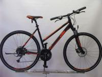 KTM Life Track Damen schwarz orange