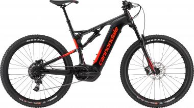 Cannondale Cujo Neo 130 3 GRA Graphite w/ Pearl Black and Acid Red - Gloss 2019 - HE 27,5 -