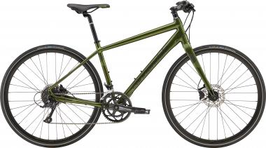 Cannondale Quick Disc 3 VUG Vulcan w/ Jet Black and Cannondale Green - Gloss 2019 - HE 28 -