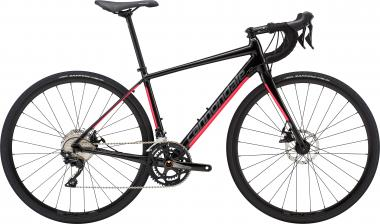 Cannondale Synapse Al Disc 105 ASB Black Pearl w/ Acid Strawberry and Charcoal - Glos 2019 - DA 28 -