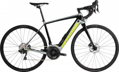 Cannondale Synapse Neo Al 2 SGG Jet Black w/ Sage Gray and Volt - Gloss