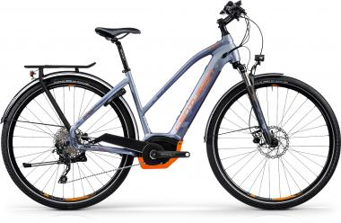 Centurion E-Fire Tour R850i - 28 -  STAHLGRAU MATT (BLAU/ORANGE) 2019