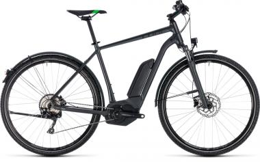 Cube Cross Hybrid Pro Allroad 500 grey´n´flashgreen 2018 - Men 28 -
