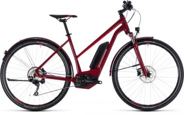 Cube Cross Hybrid Pro Allroad 500 darkred´n´red 2018 - Trapeze 28 -