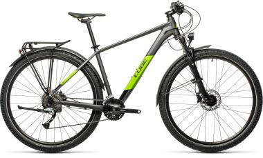 Cube AIM SL ALLROAD Grey´n´green  2021 - 27,5