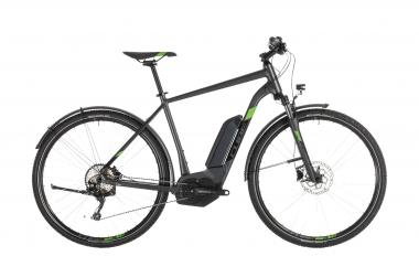 Cube Cross Hybrid Pro 400 Allroad iridium´n´green 2019 - Men 28 -
