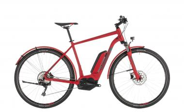 Cube Cross Hybrid Pro 400 Allroad red´n´grey 2019 - Men 28 -