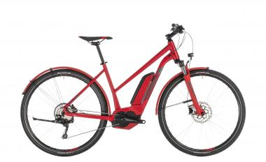 Cube Cross Hybrid Pro 500 Allroad red´n´grey 2019 - Trapeze Lady 28 -