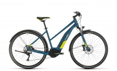 Cube Nature Hybrid EXC 500 Allroad ´n´lime - Trapeze -  blue´n´lime 2020
