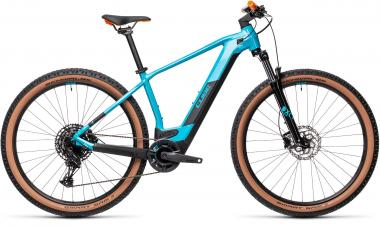 Cube REACTION HYBRID PRO 625 Petrol´n´orange  2021 - 625Wh 29