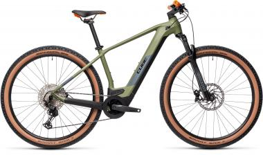 Cube REACTION HYBRID RACE 625 Green´n´orange  2021 - 625Wh 29