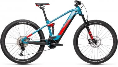 Cube STEREO HYBRID 120 RACE 625 Blue´n´red  2021 - 625Wh 29