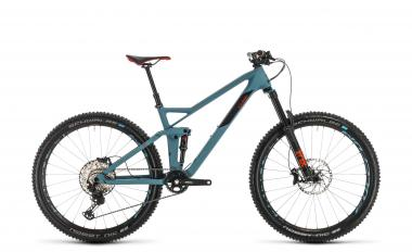 Cube Stereo 140 HPC Race 27.5 - Diamant -  bluegrey´n´red 2020