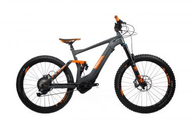 Cube Stereo Hybrid 140 TM 500 KIOX 27.5 - 27.5 -  grey´n´orange 2019
