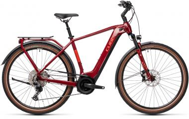 Cube TOURING HYBRID EXC 625 Red´n´grey  2021 - 625Wh 29