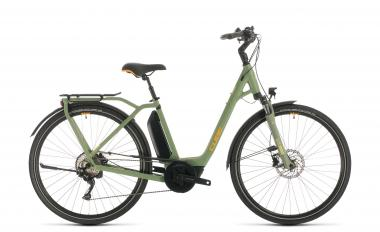Cube Town Sport Hybrid Pro 500 - Easy Entry -  green´n´orange 2020