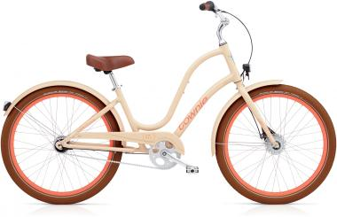 Electra Townie Balloon 7i EQ - 26 LADIES' -  Nude 2019