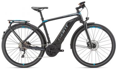 Giant Explore E+ 1 GTS Black-Blue-Grey Matt