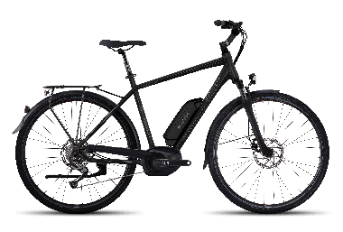 GHOST Hybride Andasol Trekking 2  Night black / Micro chip gray / Titanium 2017