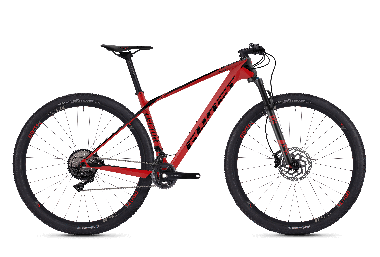 GHOST LECTOR 6.9 LC Riot red NIGHTBLACK - 2018 - Uni 29 -
