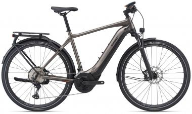 Giant EXPLORE E+ 0 PRO GTS Metallic Brown / Black Satin Matt Gloss  2021 - 625Wh 28
