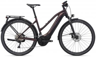 Giant EXPLORE E+ 1 PRO STA Metallic Brown / Black Satin Matt Gloss  2021 - 625Wh 28