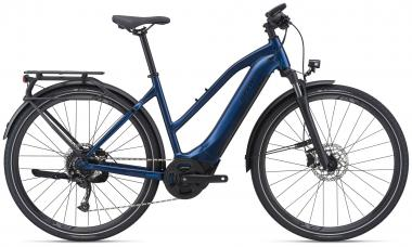 Giant EXPLORE E+ 2 STA Metallic Navy / Black Satin Gloss  2021 - 500Wh 28