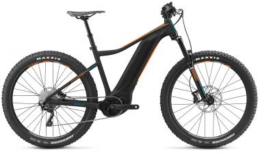 Giant Fathom E+ 3 Power Black-Neonorange-Petrolblue Matt 2019 - 500 -