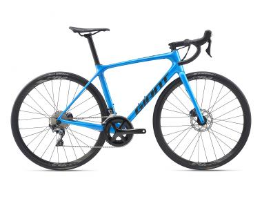 Giant TCR Advanced 1 Disc Metallicblue / Coreblack 2020